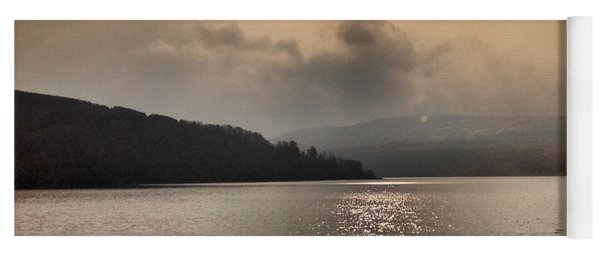 Morning Sun At Loch Awe Yoga Mat