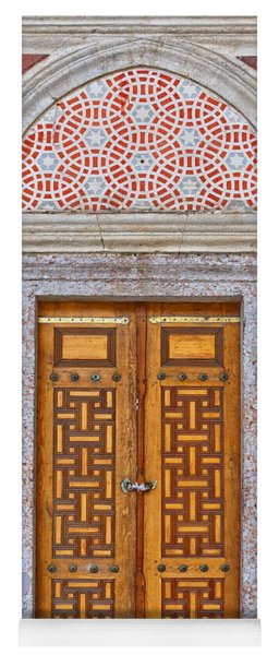Mosque Doors 04 Yoga Mat