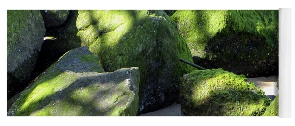 Moss On The Rocks Yoga Mat