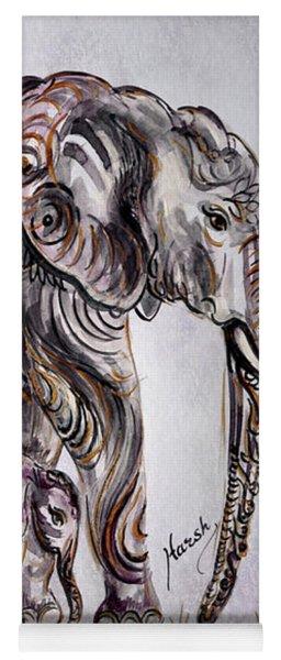Mother Elephant Yoga Mat