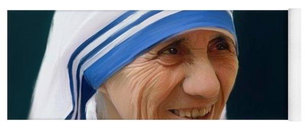 Mother Teresa Yoga Mat