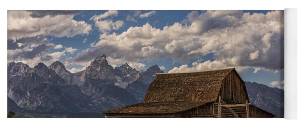 Moulton Barn - Grand Teton National Park Wyoming Yoga Mat