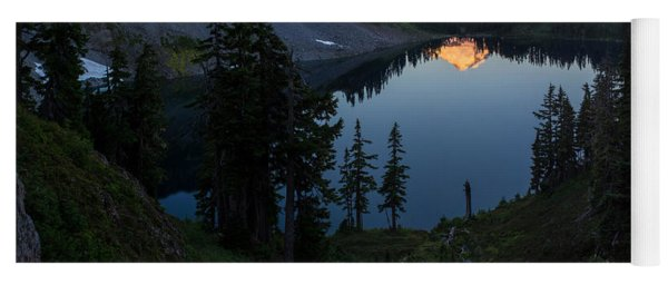 Mount Baker Chain Lakes Awakening Yoga Mat