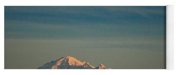 Mount Baker Sunset Yoga Mat