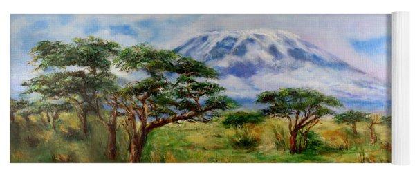 Mount Kilimanjaro Tanzania Yoga Mat