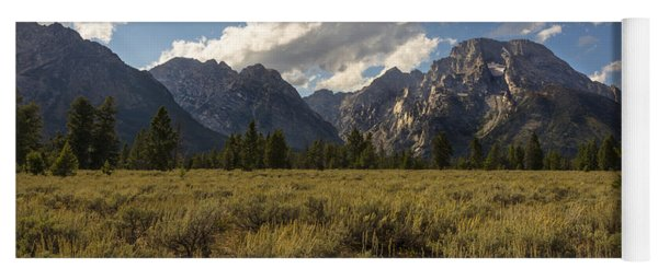 Mount Moran - Grand Teton National Park Yoga Mat