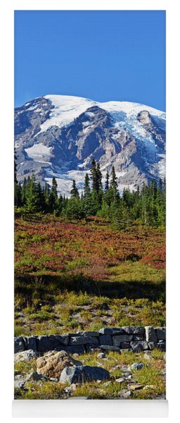 Mount Rainier Yoga Mat