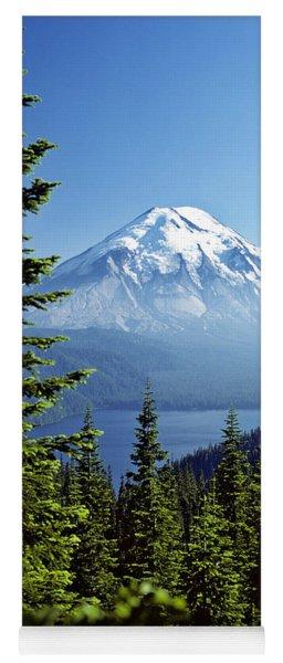 Mount St. Helens And Spirit Lake Yoga Mat