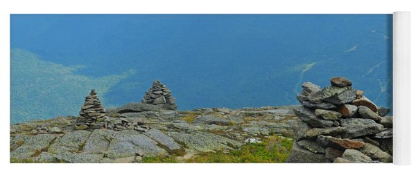 Mount Washington Rock Cairns Yoga Mat