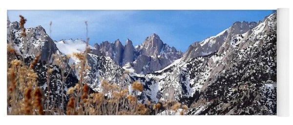 Mount Whitney - California Yoga Mat