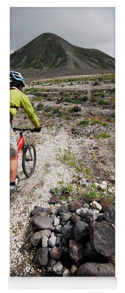 Mountain Biking At Mount. St. Helens Yoga Mat