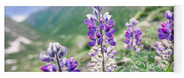 Mountain Lupine Yoga Mat