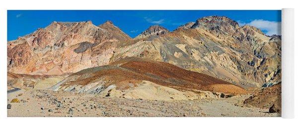Mountain Range, Artists Drive, Death Yoga Mat