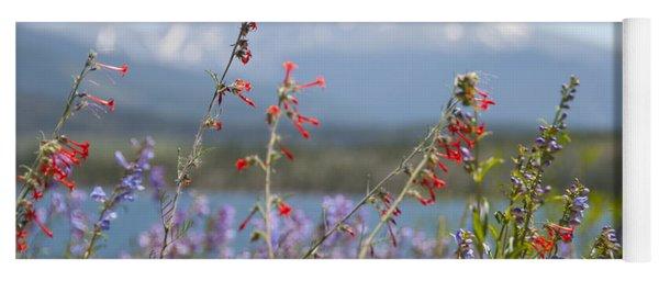 Mountain Wildflowers Yoga Mat