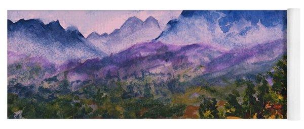 Mountains Of Pyrenees  Yoga Mat