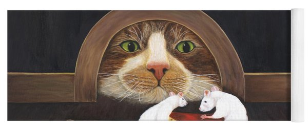 Mouse House Yoga Mat