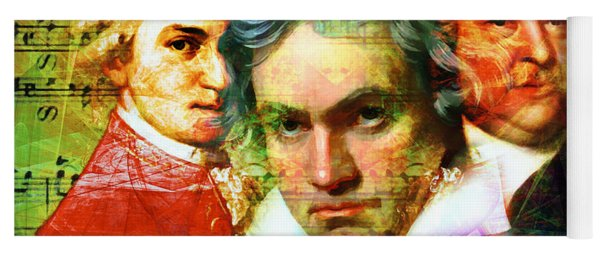 Mozart Beethoven Bach 20140128 Yoga Mat