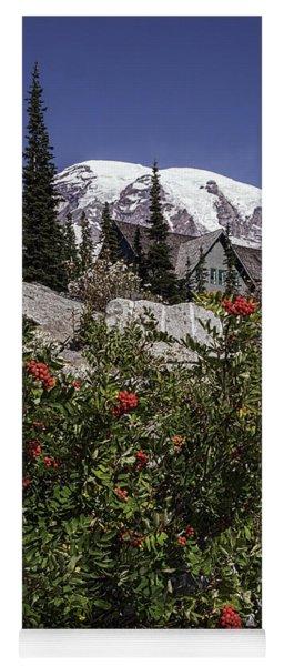 Mt Ash At Mt Rainier Yoga Mat