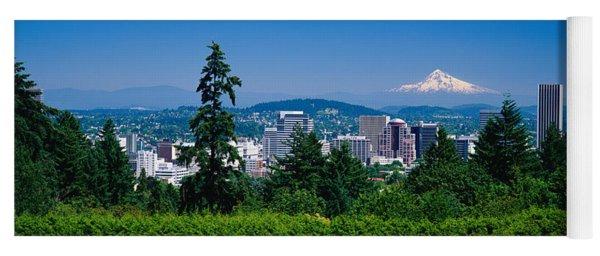 Mt Hood Portland Oregon Usa Yoga Mat