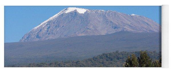 Mt Kilimanjaro  Yoga Mat