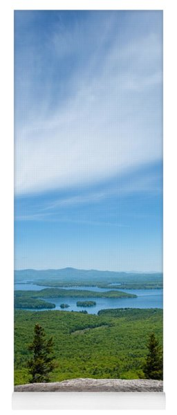 Mt Major View Yoga Mat