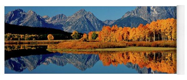 Mt. Moran Reflection Yoga Mat