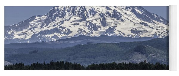 Mt Rainer In July Yoga Mat