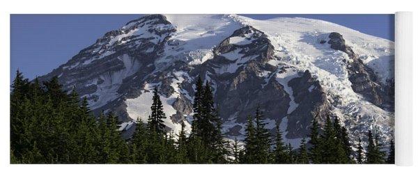 Mt Rainier Landscape Yoga Mat