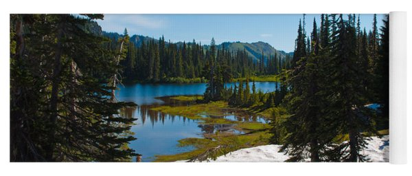 Mt. Rainier Wilderness Yoga Mat