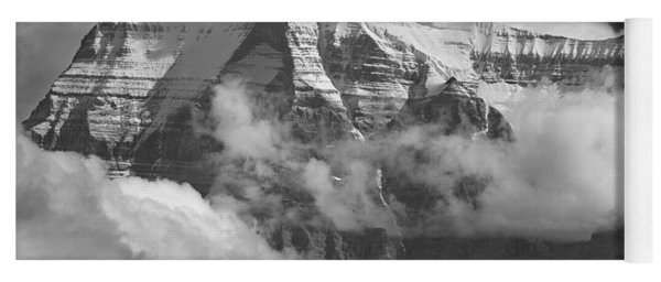 102496-mt. Robson Wreathed In Clouds Yoga Mat