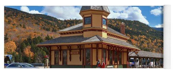 Mt Washington Railroad - Crawford Depot Yoga Mat