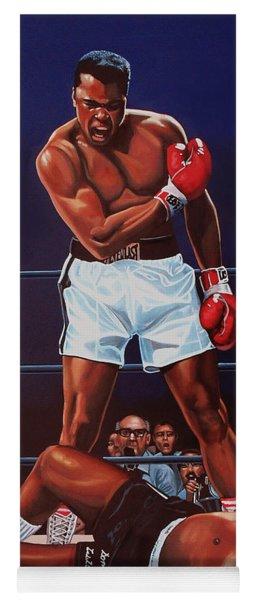 Muhammad Ali Versus Sonny Liston Yoga Mat