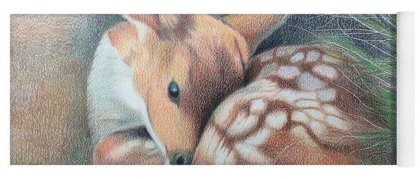 Mule Deer Fawn Yoga Mat