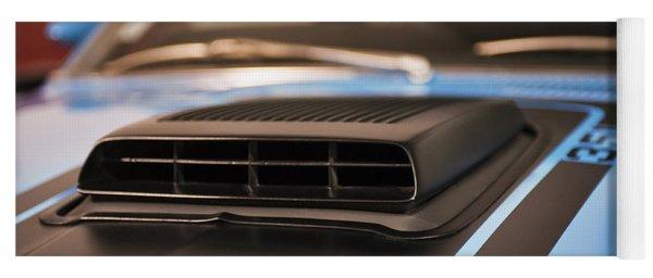 Mustang Mach 1 Shaker Hood Scoop Yoga Mat