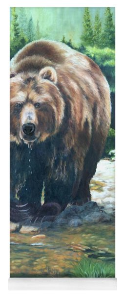My Bear Of A Painting Yoga Mat