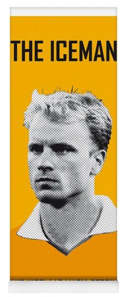 My Bergkamp Soccer Legend Poster Yoga Mat