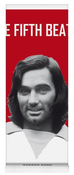 My Best Soccer Legend Poster Yoga Mat