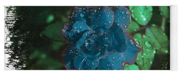 My Blue Rose Yoga Mat