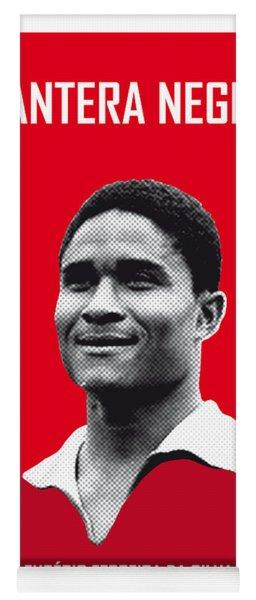 My Eusebio Soccer Legend Poster Yoga Mat