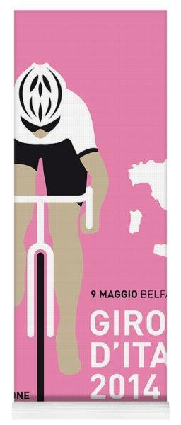 My Giro D Italia Minimal Poster 2014 Yoga Mat