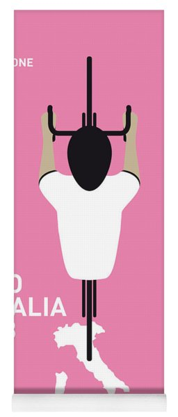My Giro D'italia Minimal Poster Yoga Mat