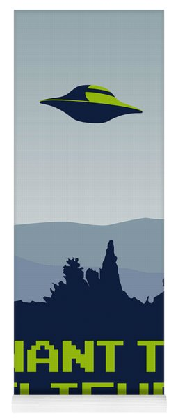 My I Want To Believe Minimal Poster Yoga Mat