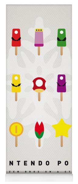My Mario Ice Pop - Univers Yoga Mat