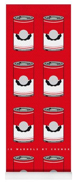 My Mario Warhols Minimal Can Poster-mario-2 Yoga Mat