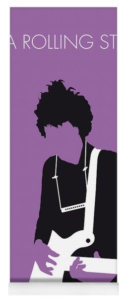 No001 My Bob Dylan Minimal Music Poster Yoga Mat