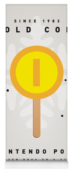 My Nintendo Ice Pop - Gold Coin Yoga Mat