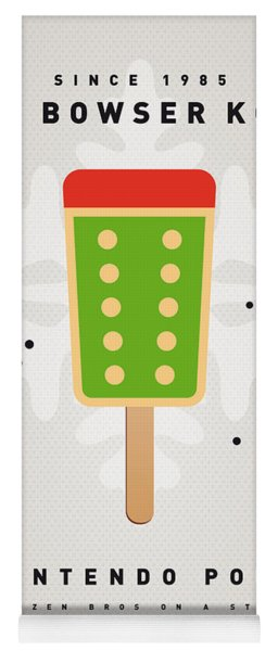 My Nintendo Ice Pop - King Bowser Yoga Mat