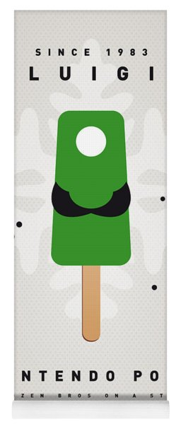 My Nintendo Ice Pop - Luigi Yoga Mat