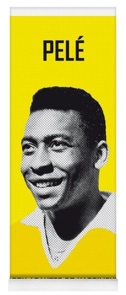 My Pele Soccer Legend Poster Yoga Mat