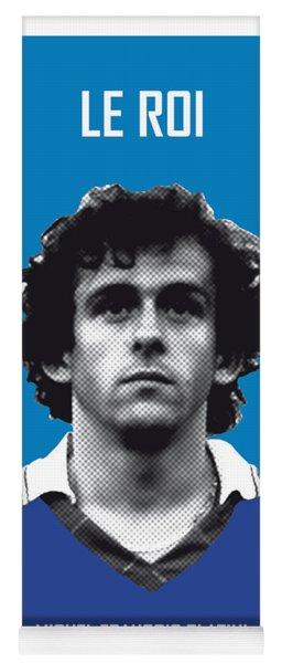My Platini Soccer Legend Poster Yoga Mat
